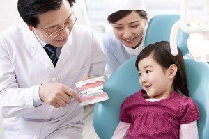 chăm sóc răng sữa cho bé