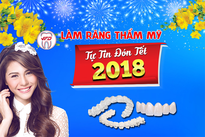 Làm răng thẩm mỹ – Đón tết như ý
